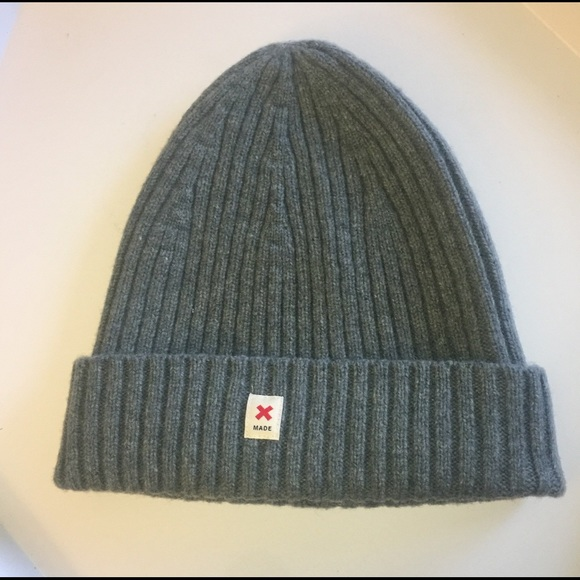 12a509ceed6 CAP OF COURAGE LAMBSWOOL BEANIE GREY